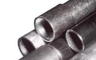 Galvanised Red Band Pipe
