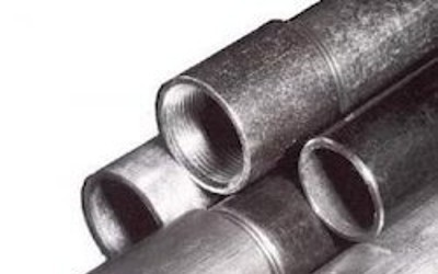 Galvanised Blue Band Pipe